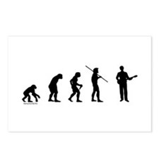 Banjo Evolution Postcards (Package of 8)