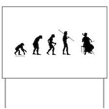 Cello Evolution Yard Sign