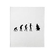 Cello Evolution Throw Blanket