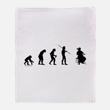 Cello Evolution Throw Blanket