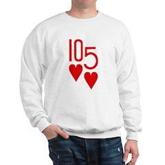 10h 5h Poker Sweatshirt
