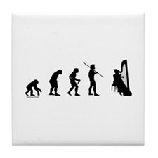 Harp Evolution Tile Coaster