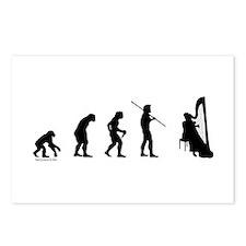 Harp Evolution Postcards (Package of 8)