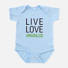 Live Love Armadillos Infant Bodysuit