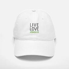 Live Love Armadillos Baseball Baseball Cap