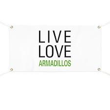 Live Love Armadillos Banner