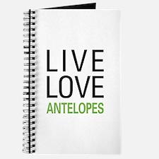 Live Love Antelopes Journal