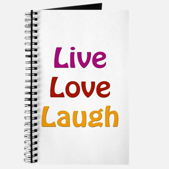 Live Love Laugh Journal