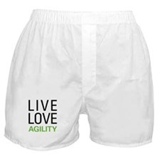 Live Love Agility Boxer Shorts