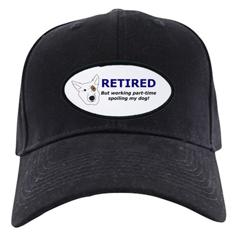 Personalized Retirement Dog Black Hat