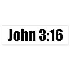 John 3:16 Bumper Bumper Bumper Sticker