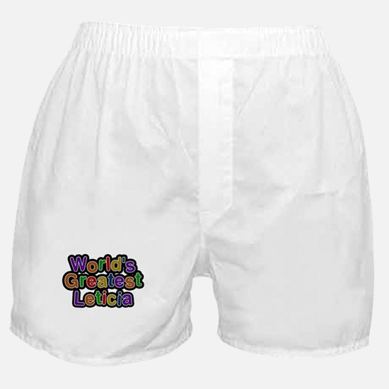 Worlds Greatest Leticia Boxer Shorts