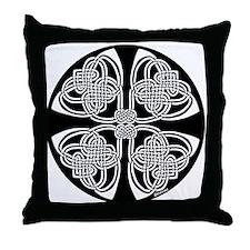 Duality Celtic Design Throw Pillow