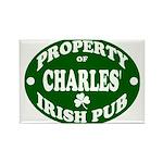 Charles' Irish Pub Rectangle Magnet