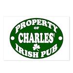 Charles' Irish Pub Postcards (Package of 8)