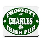 Charles' Irish Pub Mousepad