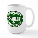 Charles' Irish Pub Large Mug