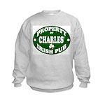 Charles' Irish Pub Kids Sweatshirt
