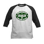 Charles' Irish Pub Kids Baseball Jersey