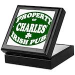 Charles' Irish Pub Keepsake Box