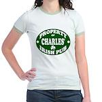 Charles' Irish Pub Jr. Ringer T-Shirt