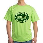 Charles' Irish Pub Green T-Shirt