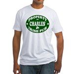 Charles' Irish Pub Fitted T-Shirt