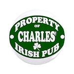 "Charles' Irish Pub 3.5"" Button"