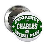 "Charles' Irish Pub 2.25"" Button"