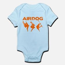 Orange Snowboard Airdog Infant Bodysuit