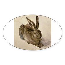 Unique Rabbit art Decal