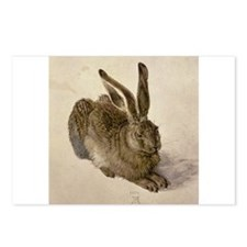 Cute Rabbit art Postcards (Package of 8)