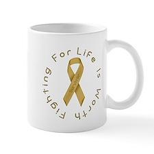 Gold Ribbon - Survivor Mug