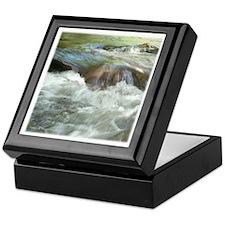 Mountain Stream Keepsake Box