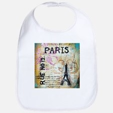 Shabby Chic Paris Bib