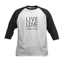 Live Love Orangutans Tee