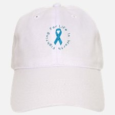 LightBlue Ribbon - Survivor Baseball Baseball Cap