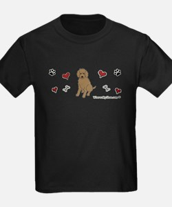 labradoodle chocolate T