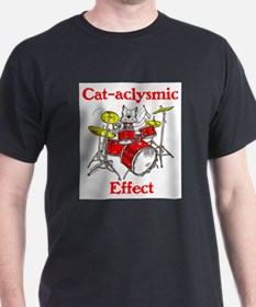 Cat-aclysmic Effect T-Shirt