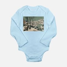 Cute Rural scene Long Sleeve Infant Bodysuit