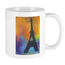 ABSTRACT EIFFEL TOWER Mug