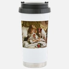 Cute Bed breakfast Travel Mug