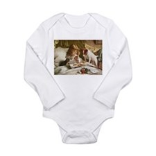 Jack russell Long Sleeve Infant Bodysuit