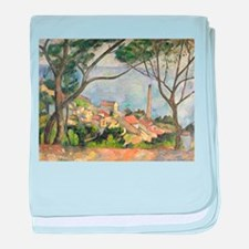 Cool Post impressionist baby blanket