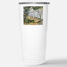 Funny Post impressionist art Travel Mug