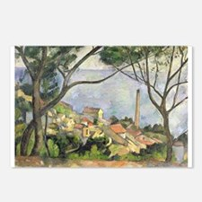 Funny Post impressionist Postcards (Package of 8)