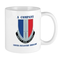 A Company - 189th Infantry Bde with Text Mug