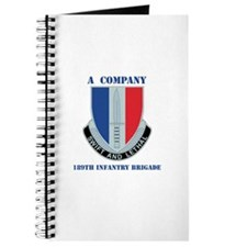 A Company - 189th Infantry Bde with Text Journal