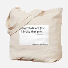Broke arm Tote Bag
