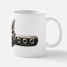 Underwood typewriter logo Mug